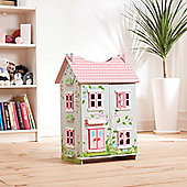 Teamson Kids- Fairytale Cottage with 7 Pieces of Furniture.