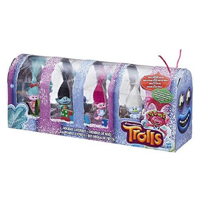 DreamWorks Trolls Holiday Caterbus Figures