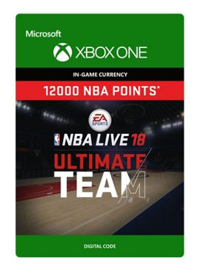 NBA LIVE 18: NBA UT 12000 Points Pack (Digital Download Code)