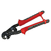 Faithfull Narrow Tile Nipper TCT Tipped Soft-Grip Handle FAITLTILENIP