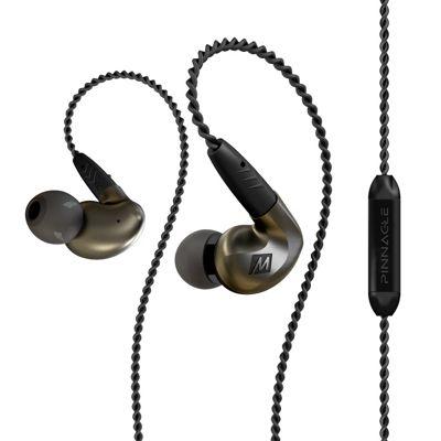 Pinnacle P1 High Fidelity Audiophile In-Ear Headphones - Black