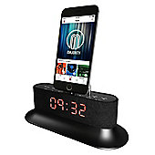 Majority Mercury iPhone Speaker Dock Alarm Clock Black