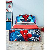Spiderman Toddler Bed & Deluxe Foam Mattress