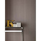 Graham & Brown KH Linear Wallpaper - Taupe