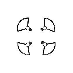 DJI Spark - Propeller Guard Grey