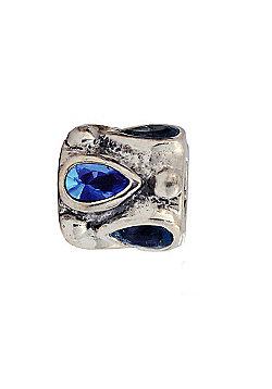 Amore & Baci Precious Rock Bead - Blue Pear