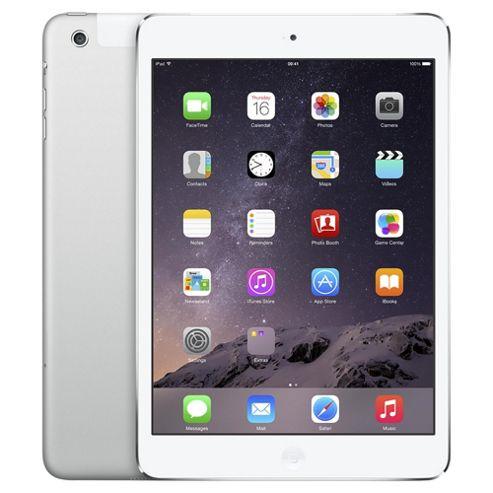 Apple iPad mini, 16GB, WiFi & 4G LTE (Cellular) - Silver