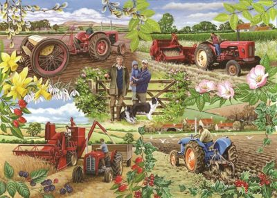 Farming Year - 1000pc Puzzle