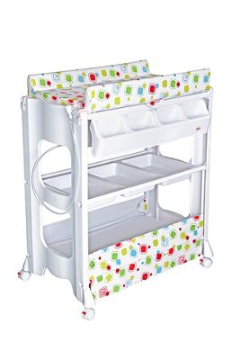 Bebe Style Baby Portable Changer Unit & Bath With Storage