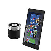 Windows Connect 8.9'' Tablet Quad Core Intel Atom Z3735G 1GB 16GB with Mini Portable Speaker