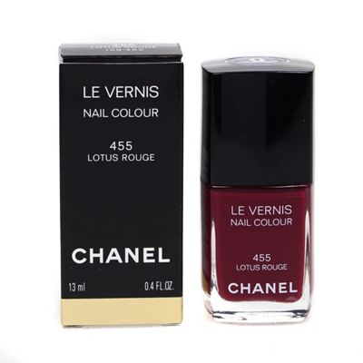 Chanel Le Vernis Nail Polish 455 Lotus Rouge