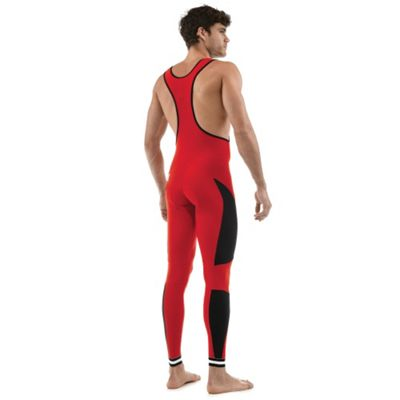 SP 1180 MAX EGO - Santini Max Ego Max 2 Pad Bib Tight Red Large