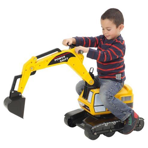Falk Ride-On Excavator, Orange