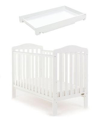 Obaby Ludlow Cot and Cot Top Changer - White