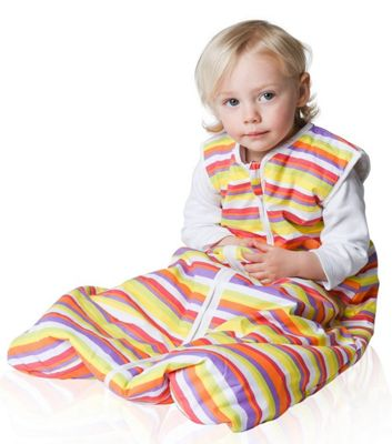 Snoozebag Baby Sleeping Bag 0-6 Months Stripes 1.0 Tog