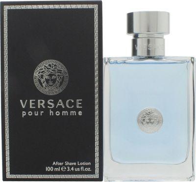 Versace New Homme Aftershave Lotion (Splash) 100ml For Men