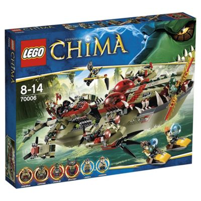 LEGO Legends of Chima Cragger's Command Ship 70006