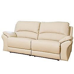 Sofa Collection Reggio Reclining Sofa - 3 Seat - Cream
