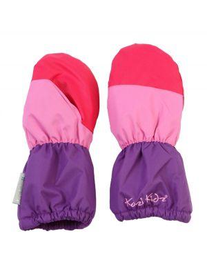 Kozi Kidz Snowball Winter Mitts - Blue and Green/Pink and Purple - Kozi Kidz