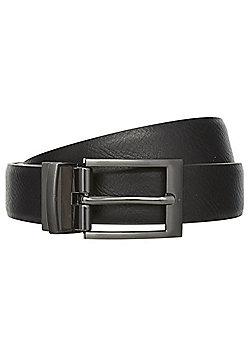 F&F Grained Formal Belt - Black