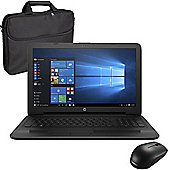 "HP 255 G5 - Z2Y29ES#ABU - 15.6"" Laptop With Wireless Mouse & Case"
