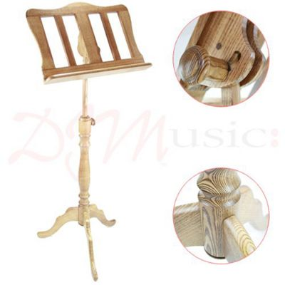 Baroque Style Oak Music Stand