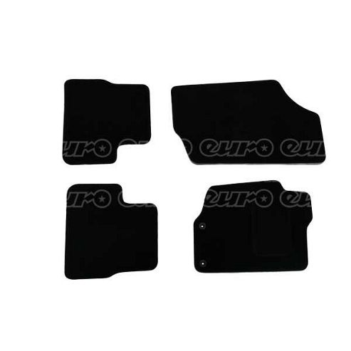Buy Tailored Car Mat Set (Black) Peugeot 207 / 207Cc (4 Pc) from our ...