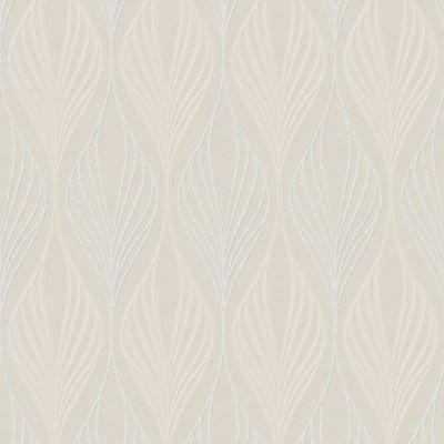 Superfresco Optimum Geometric Cream Wallpaper