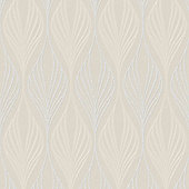 Superfresco Optimum Geometric Cream Wallpaper