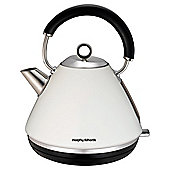 Morphy Richards Pyramid Kettle, 1.5L - White