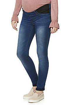 Mamalicious Maternity Jeggings - Blue