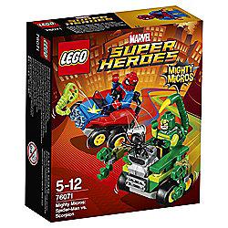 LEGO Super Heroes Mighty Micros: Spider-Man vs. Scorpion 76071