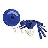 Ultimate Frisbee Set - Blue - BuitenSpeel