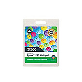 Tesco E1285 Printer Ink Cartridge Multipack