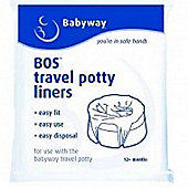 Travel Potty Liners – 10 Pack