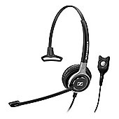Sennheiser Century SC 630 Wired Mono Headset - Over-the-head - Supra-aural - Black, Silver