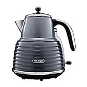 DeLonghi KBZ3001.GY Scultura Kettle, 1.5 L - Grey