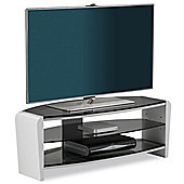 Alphason Francium White TV Stand for up to 50 inch TVs