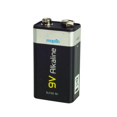 Extra Long Life Alkaline 9V 6-Pack
