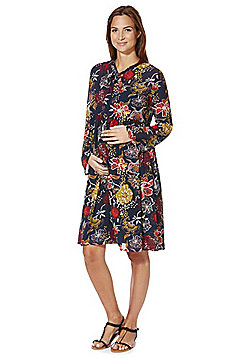 Mamalicious Floral Print Maternity Dress - Multi