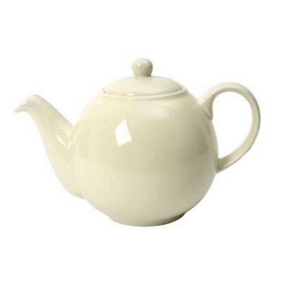 London Pottery Globe Teapot, 6 Cup, Ivory