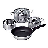 HEZ390042 Four Piece Pan Set for Induction Hobs