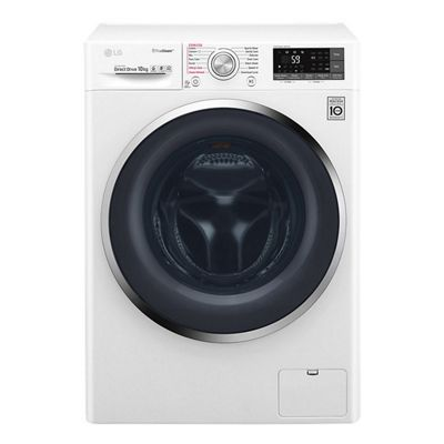 LG-F4J8JS2W Freestanding Washing Machine with 10KG Load Capacity, A+++ Energy Rating and 1400rpm Spin Speed