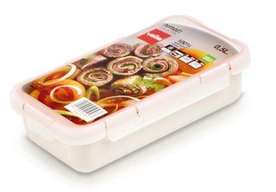 Valira Nomad Hermetic Lunch Box, 0.5L White