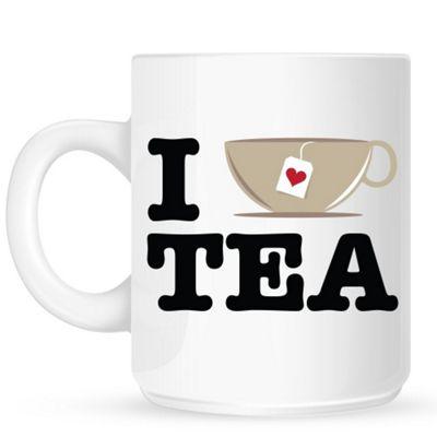 I Love A Cup of Tea 10oz Ceramic Mug