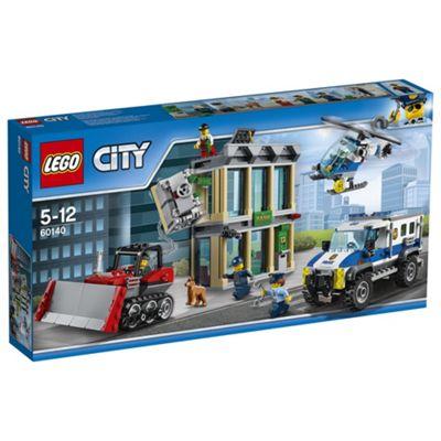 LEGO City Police Bulldozer Break-In 60140 Construction Toy