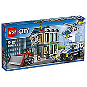 LEGO City Police Bulldozer Break-In 60140 Construction Toy Best Price, Cheapest Prices