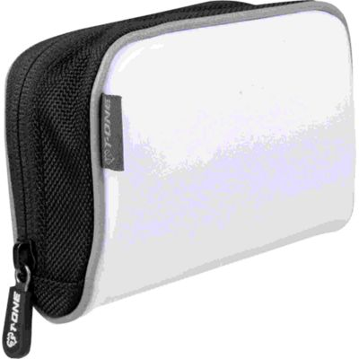 T-ONE Carry More Handlebar Stem Bag: White.