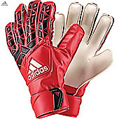 Adidas Ace Fingersave Junior Goalkeeper Gloves - Red