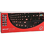 Qpad MK-85 Pro Gaming Backlit Mechanical Keyboard - Brown